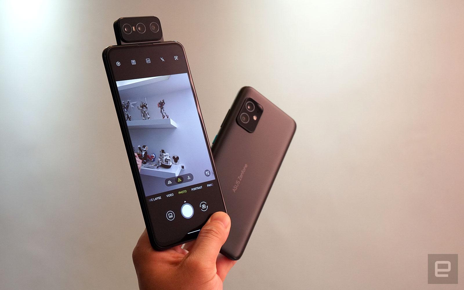 <p>ASUS ZenFone 8 Flip and ZenFone 8</p>