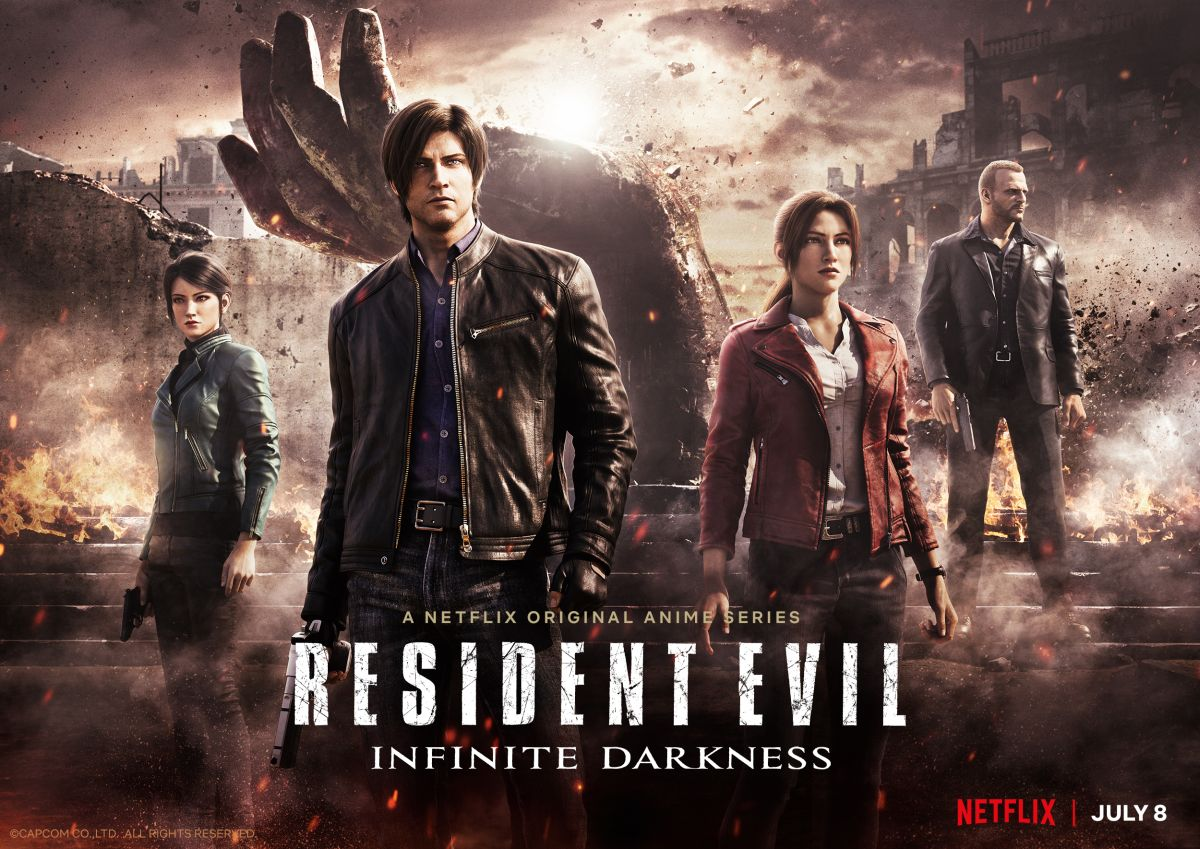 Resident Evil: Infinite Darkness' premieres on Netflix July 8th | Engadget