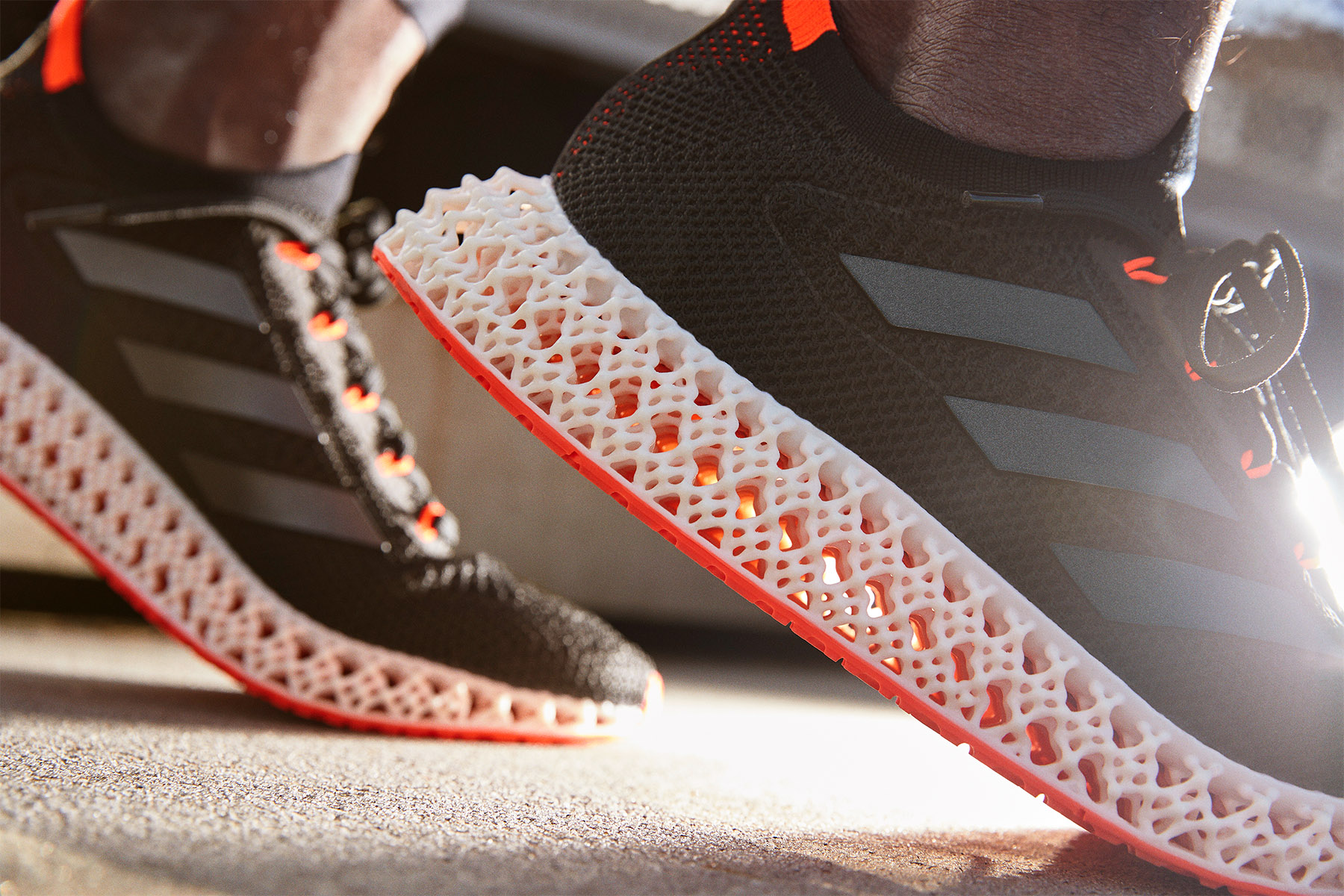 Adidas' 4DFWD shoes uses 3D-printed soles to push you forward | Engadget