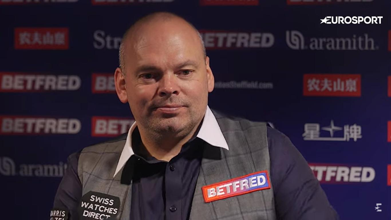 Emotional Bingham through to World Snooker Championship last four