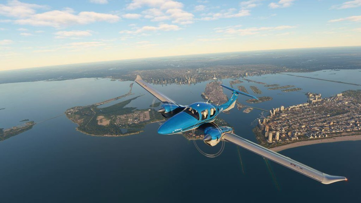 Microsoft飛行模擬器