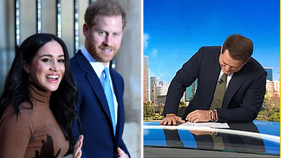 Today's Karl Stefanovic mocks Meghan and Harry's 'emotional' hobby