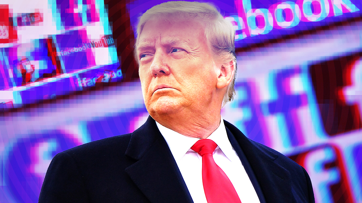 Ban or bring back: What should Facebook do about Trump?