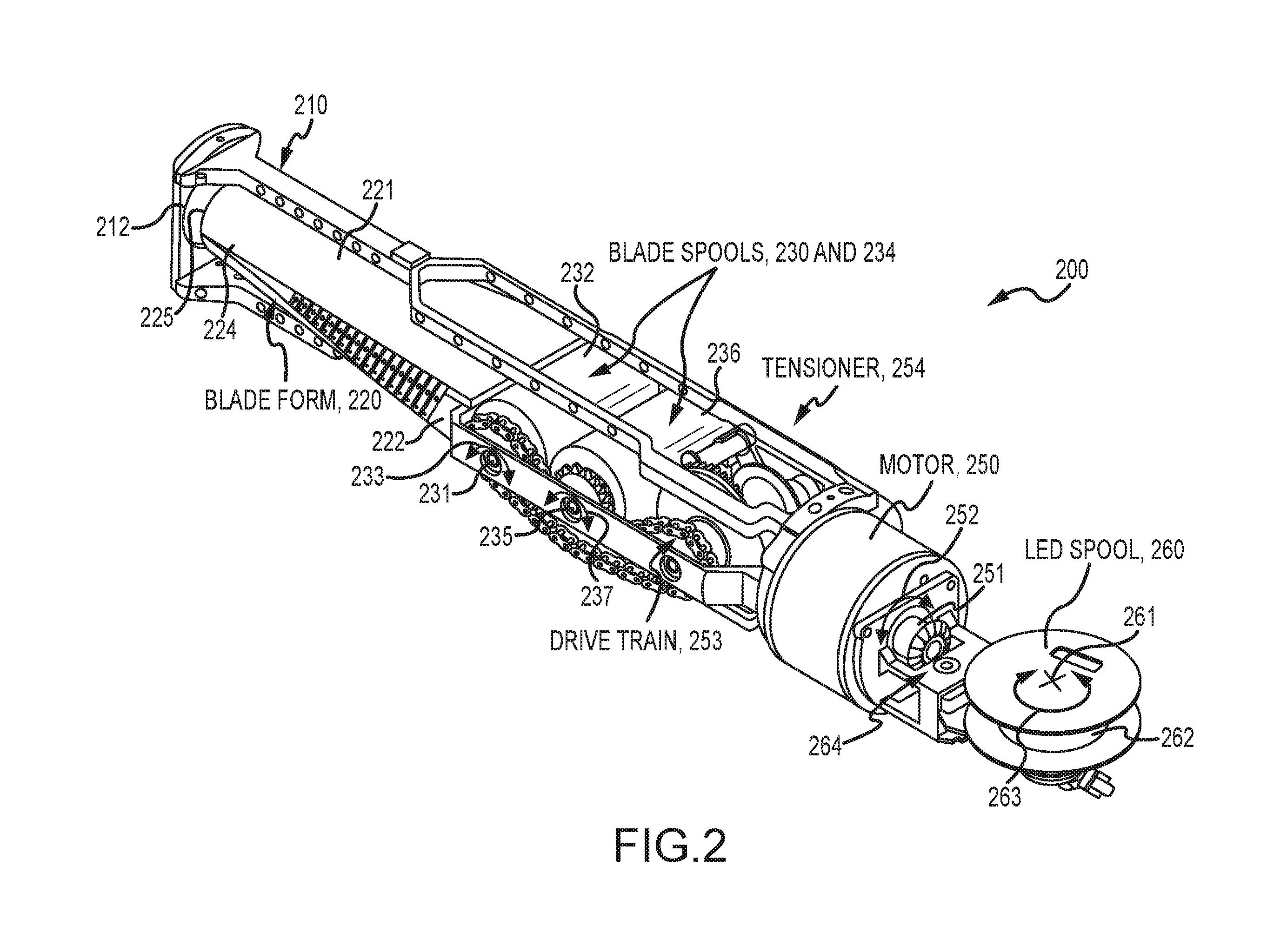 Star Wars Disney Imagineering Research Patent. US10065127B1