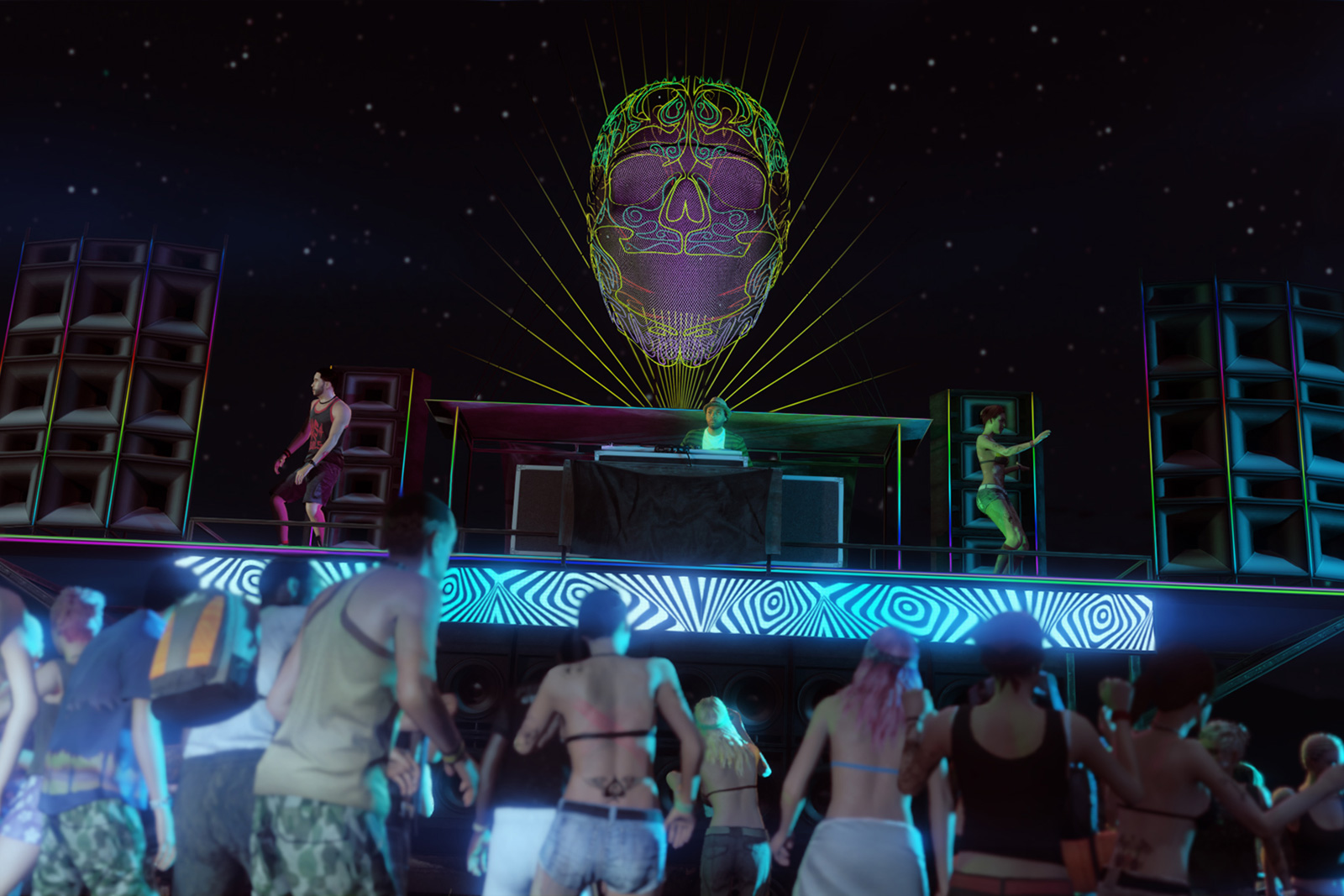 Rockstar launches a record label to 'elevate' dance music | Engadget