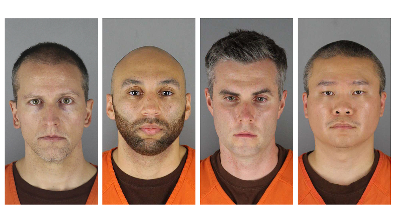 Federal jury indicts Chauvin, 3 ex-Minneapolis officers in George Floyd death