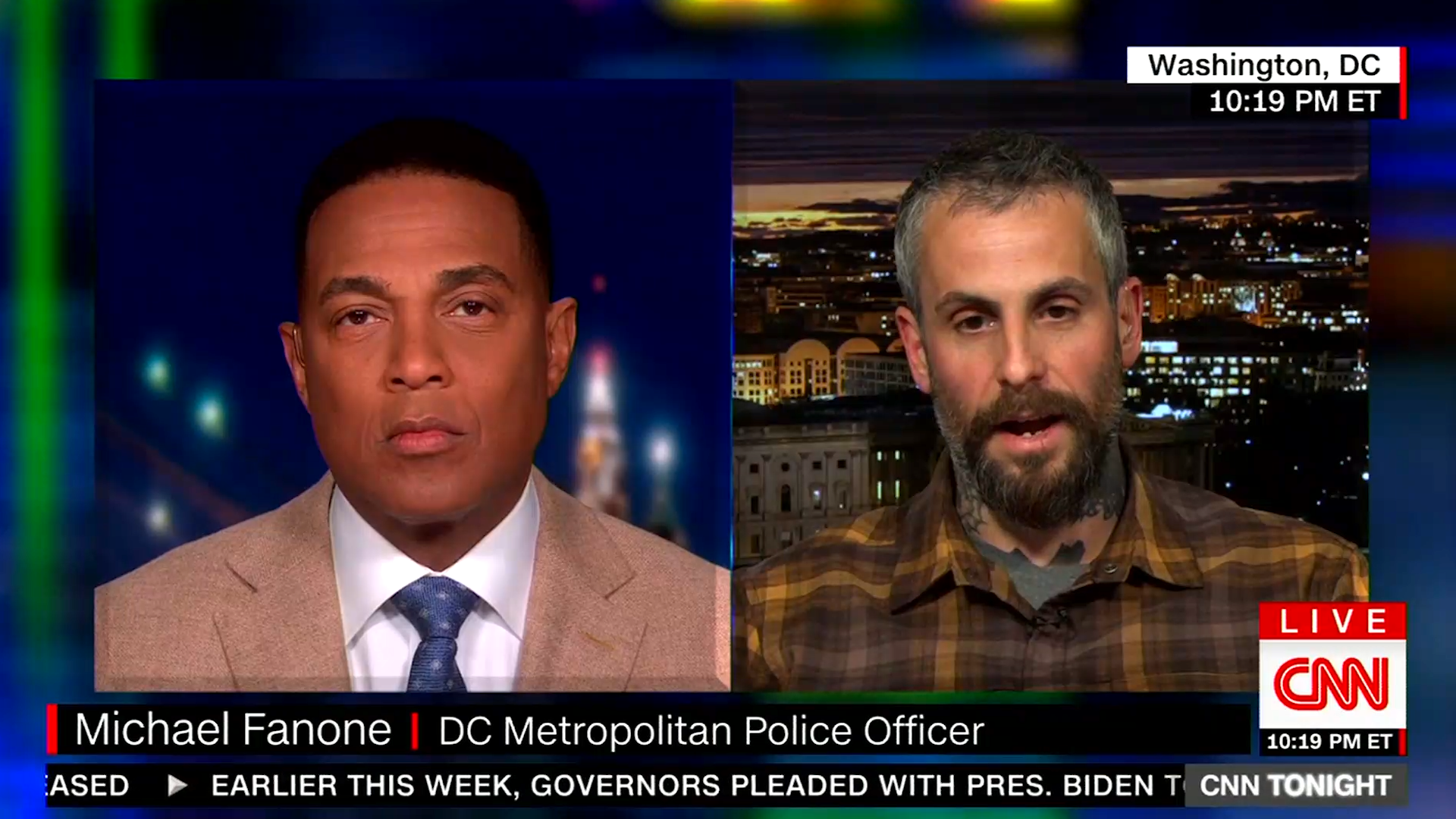 DC police officer reacts to bodycam video of him being attacked on Jan. 6: 'It broke me'