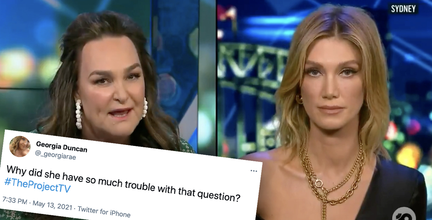 'What's going on?' Viewers divided over 'awkward' Delta interview