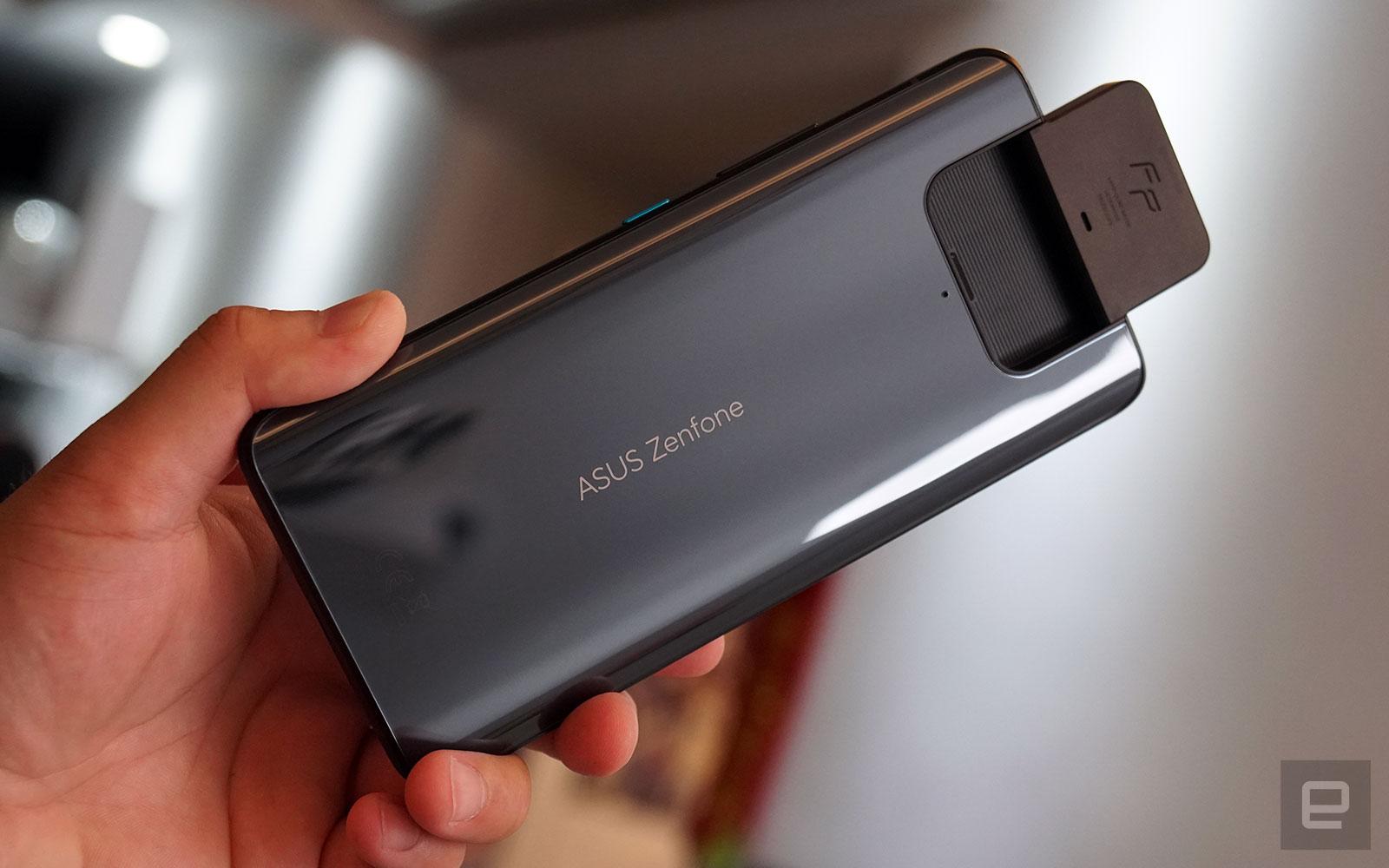 Zenfone 8翻轉