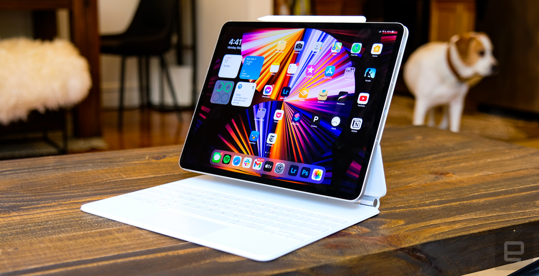 <p>Apple iPad Pro (2021) review photos</p>