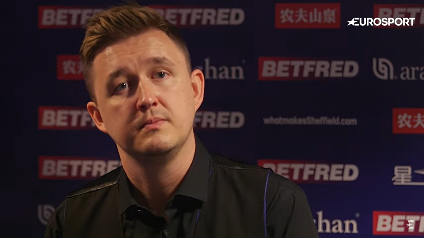 Kyren Wilson looks ahead to dramatic weekend at World Snooker Championship