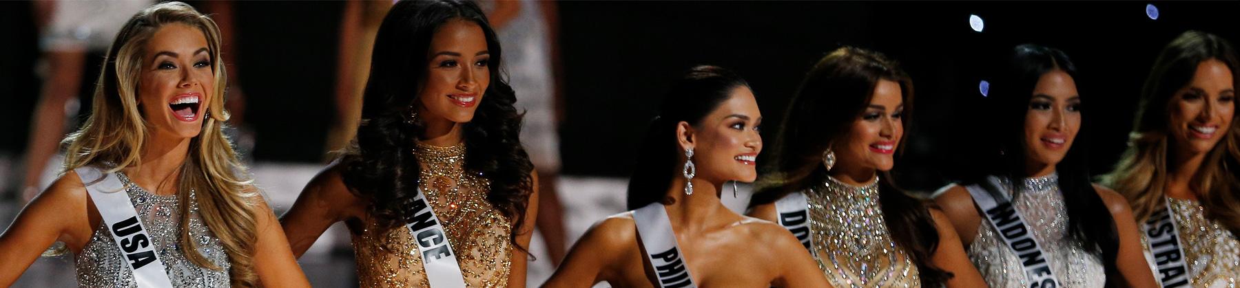 Las candidatas del Miss Universo