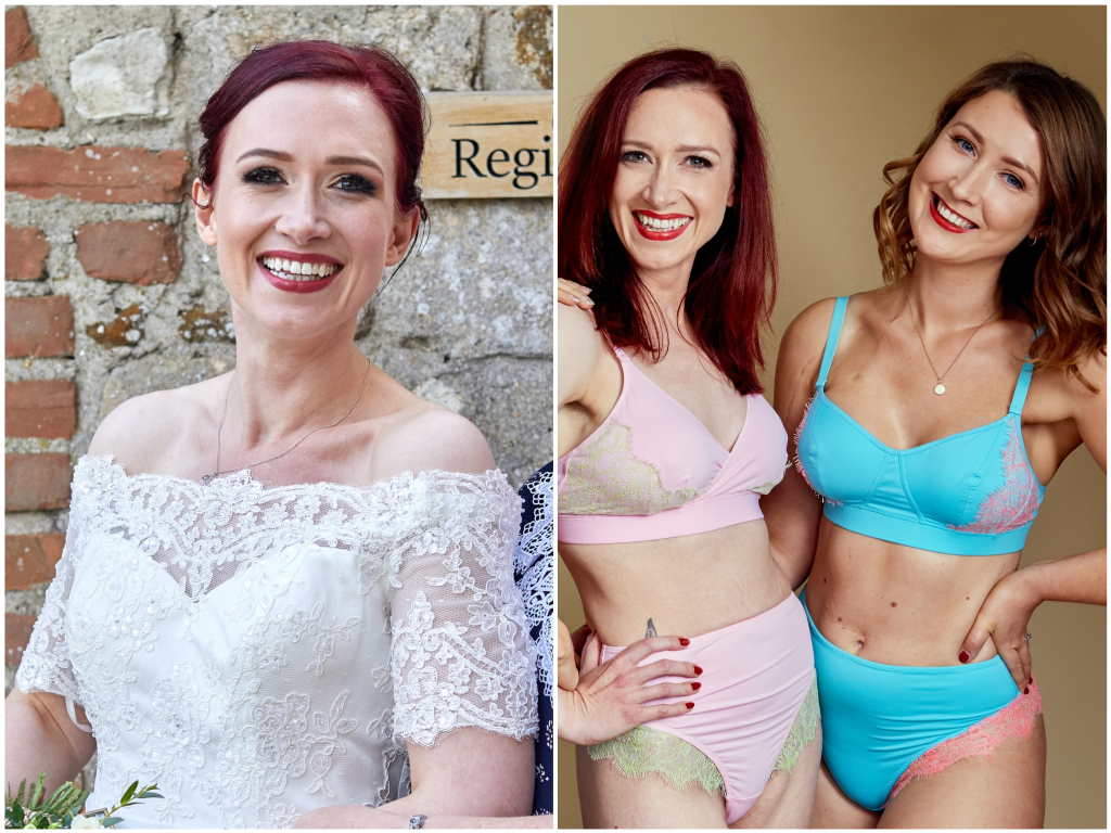 I had a double mastectomy at 25. Now I design lacy lingerie for women like me