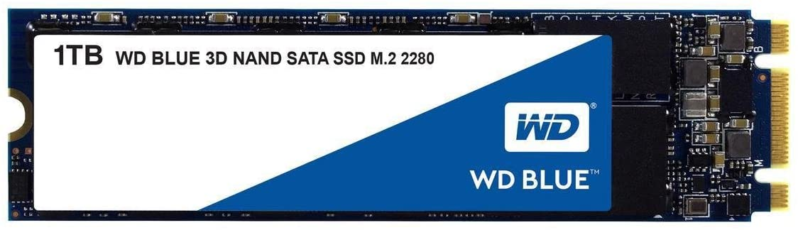 WD藍色M.2 SATA III