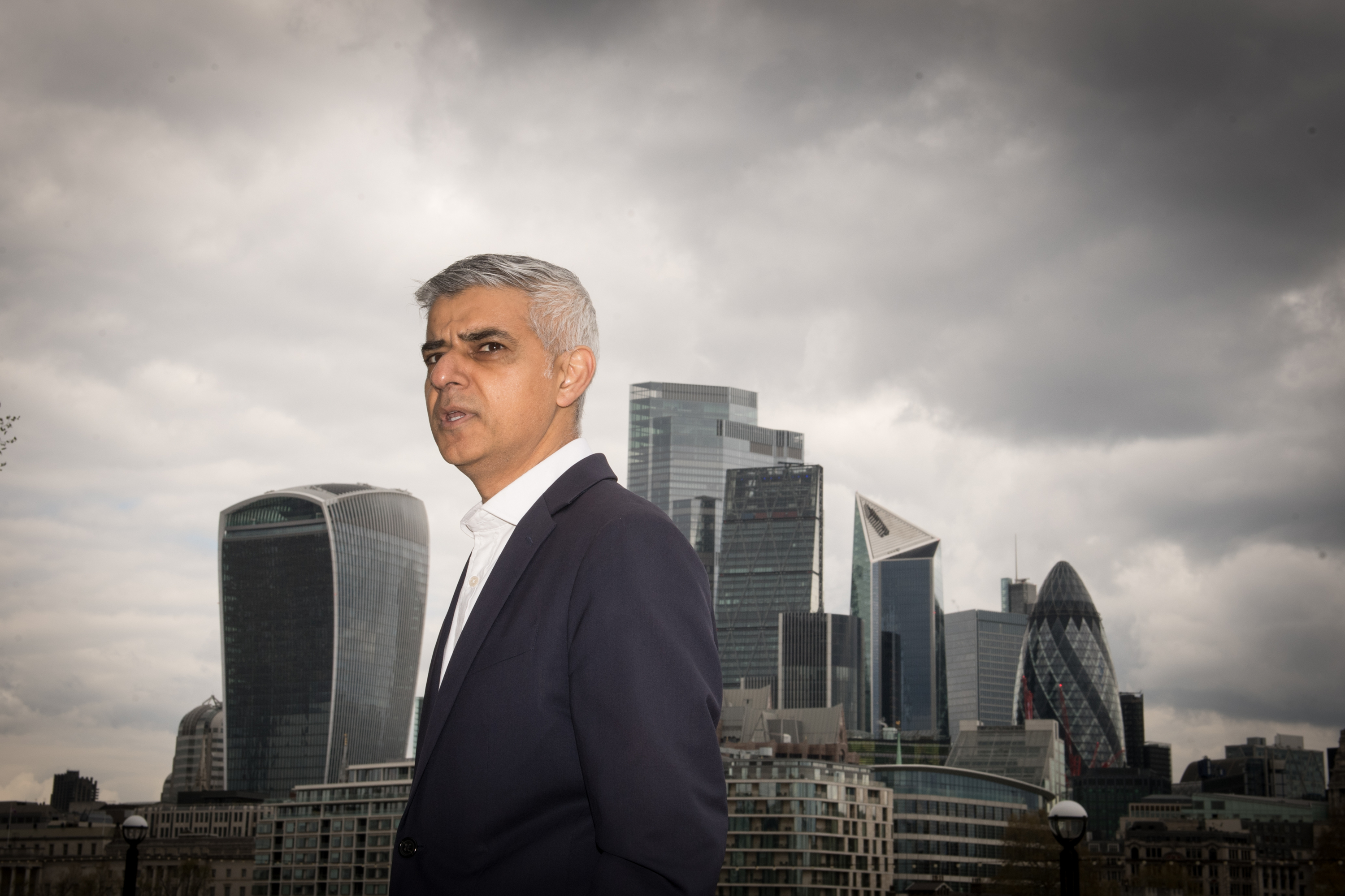<p>The Mayor of London, Sadiq Khan near City Hall, London, where he called on Londoners to give him a firm mandate to push for more affordable rents in the capital. Picture date: Thurday April 29, 2021.</p>