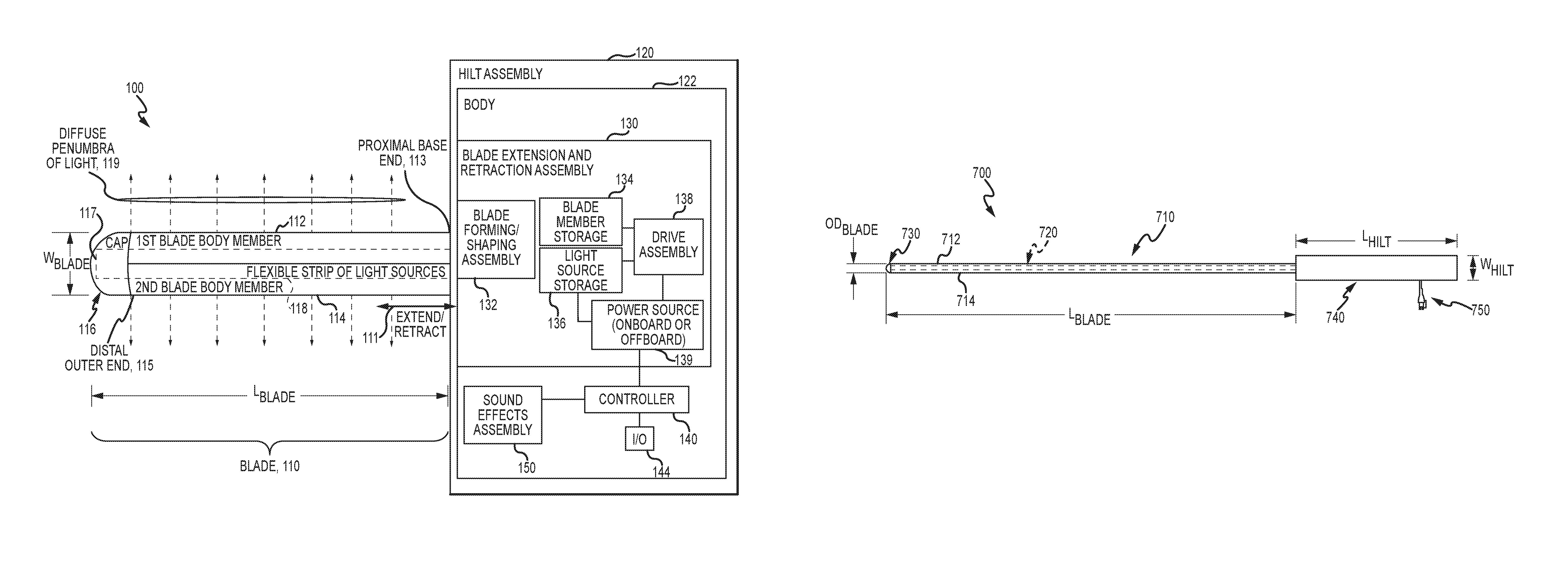 Disney Lightsaber Patent US10065127B1