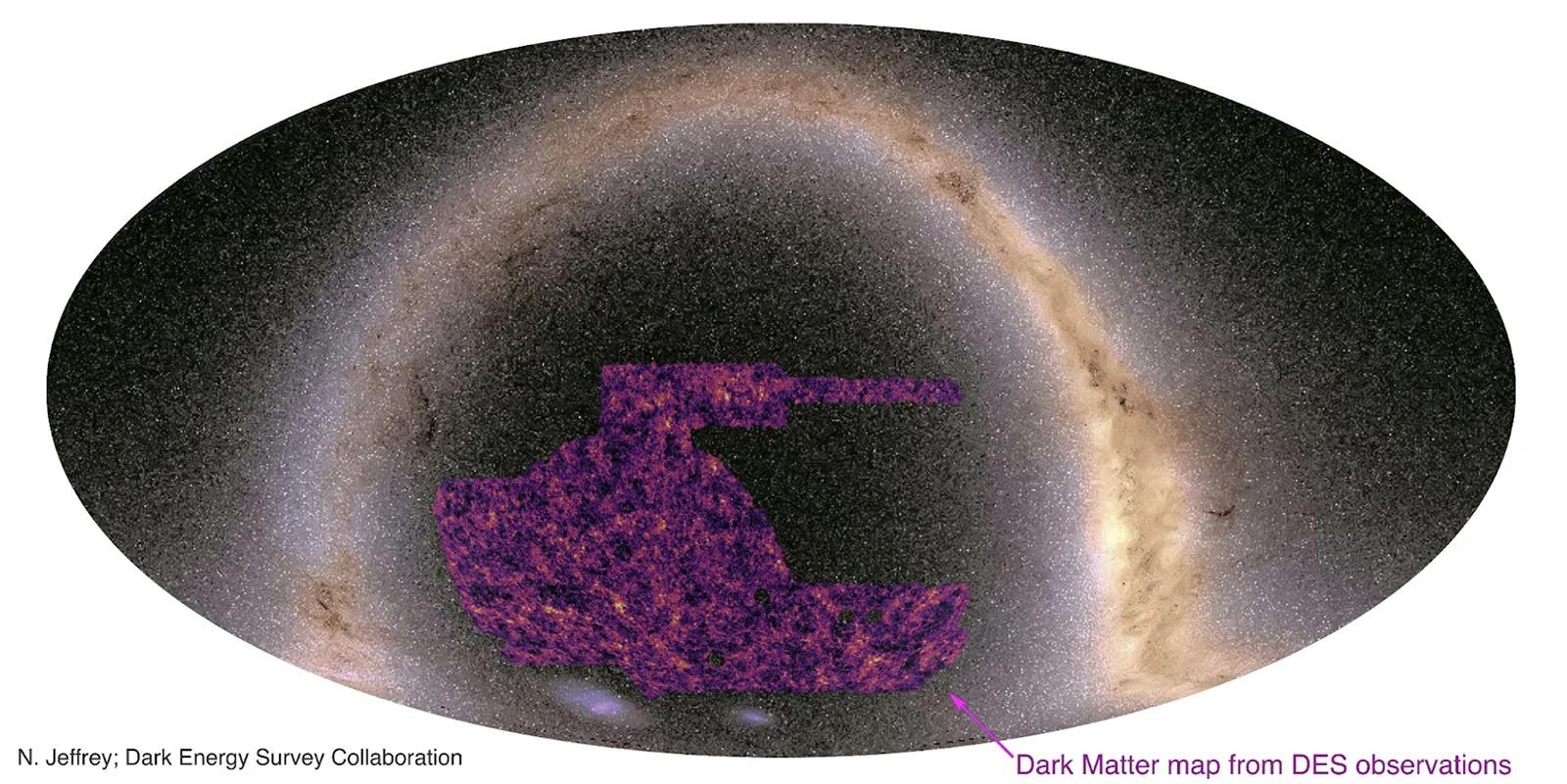 N. Jeffrey et. al/Dark Energy Survey Collaboration