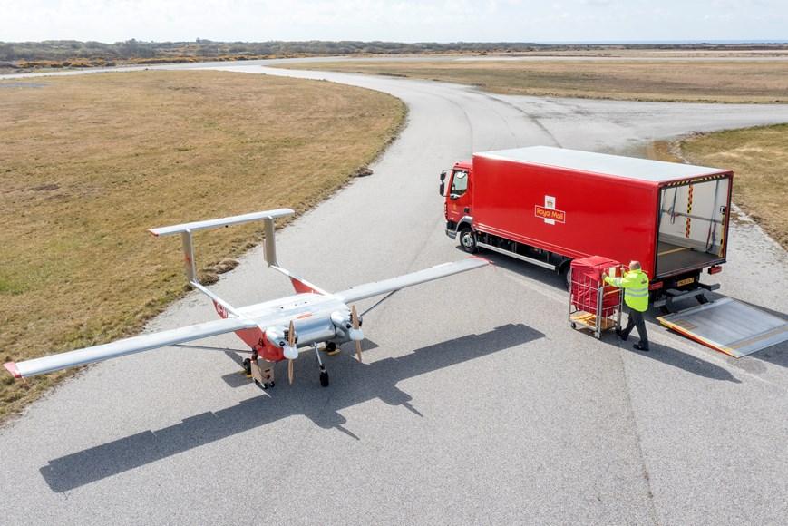 Royal Mail UAV