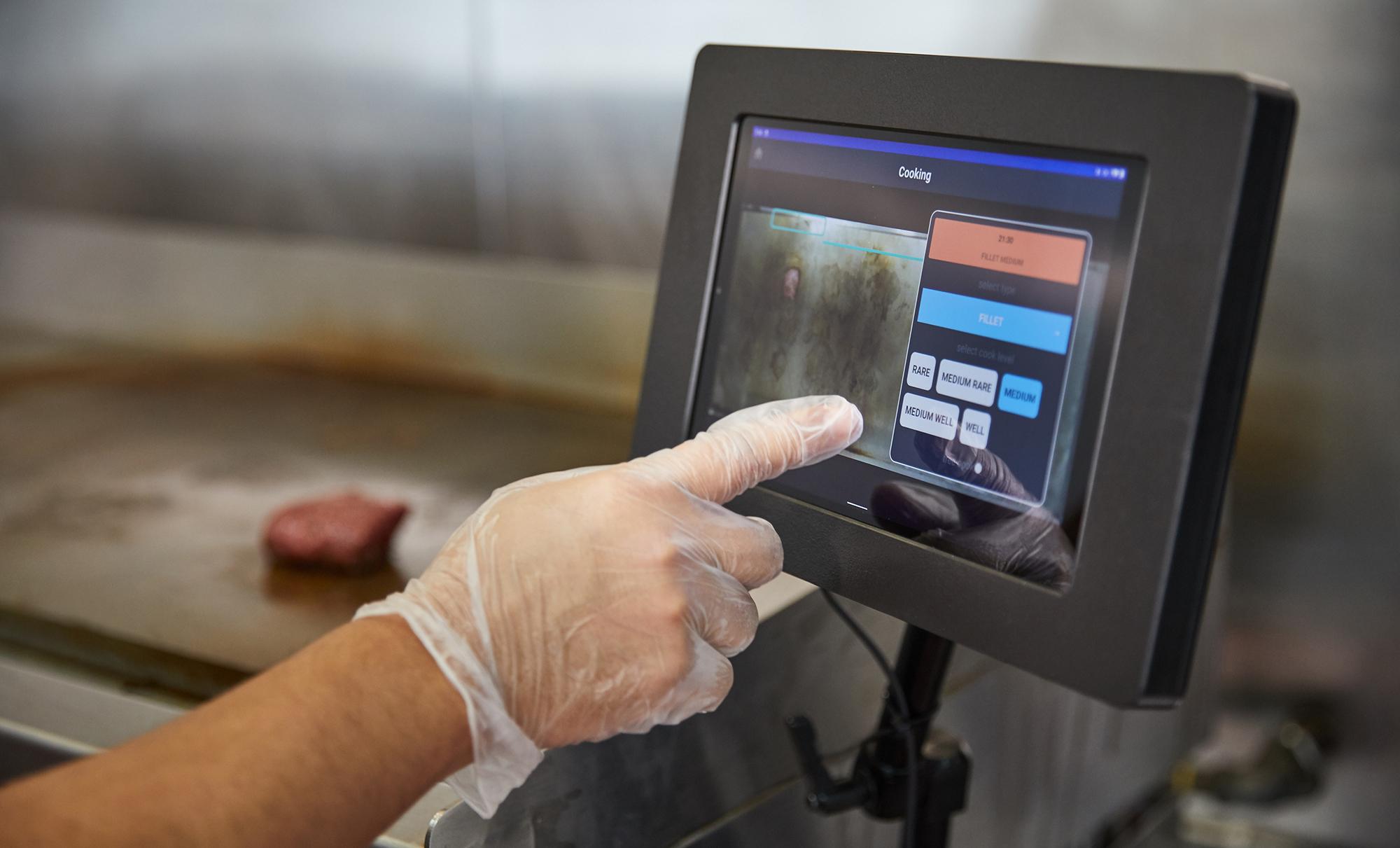 photo of Miso's AI-powered app helps restaurants cook the perfect medium rare steak image