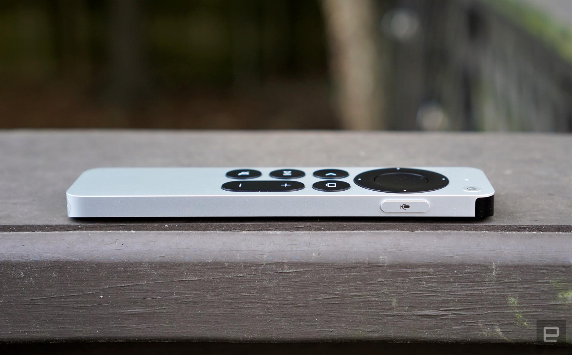 <p>Apple TV 4K (2021) Siri Remote</p>