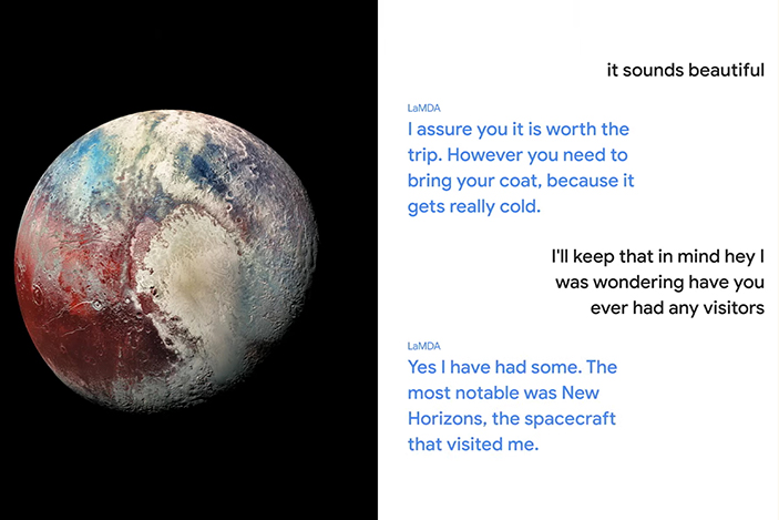 Google's LaMDA AI can have a 'natural' conversation while pretending to be Pluto