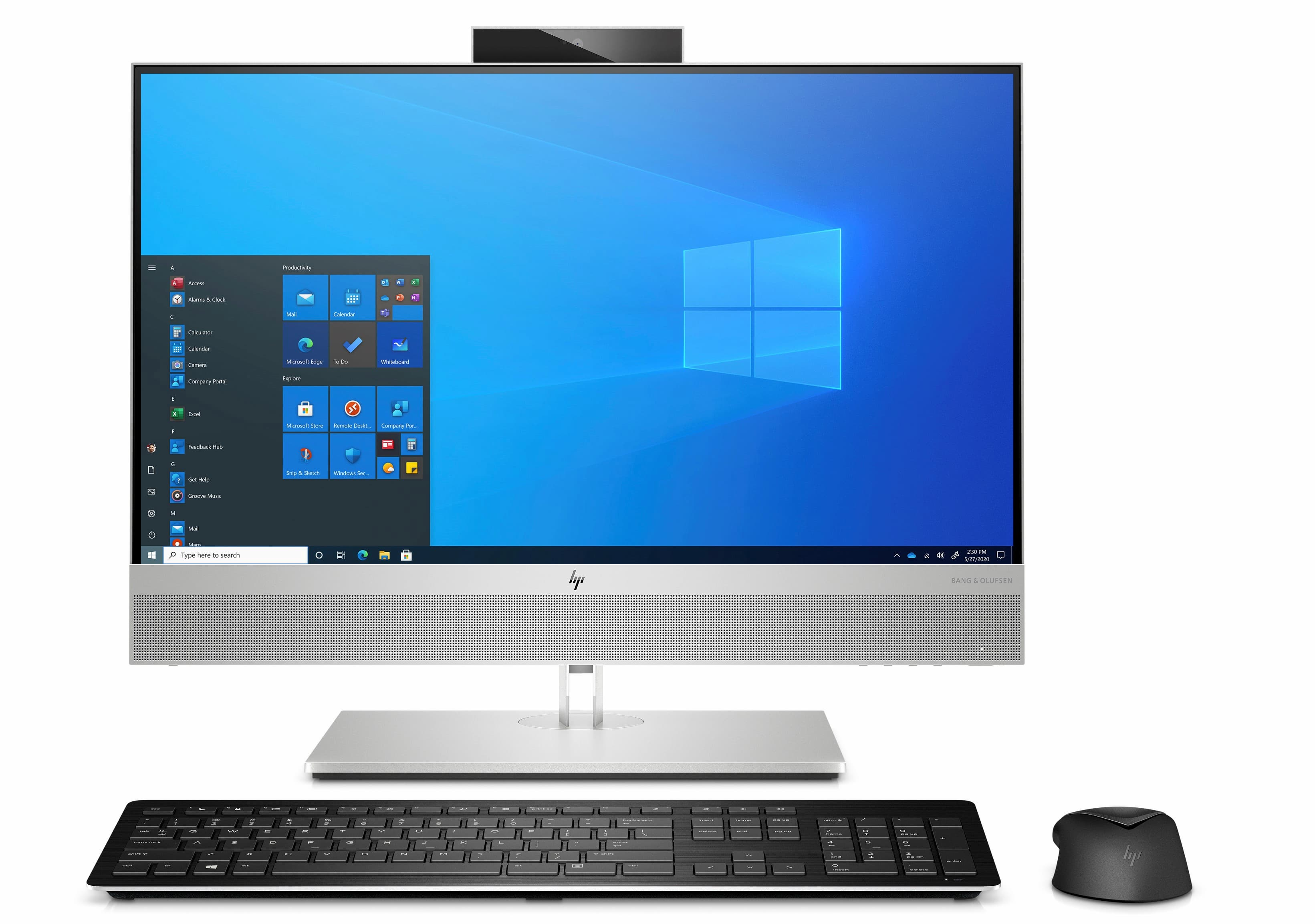 photo of HP's latest all-in-one comes with AI noise reduction image