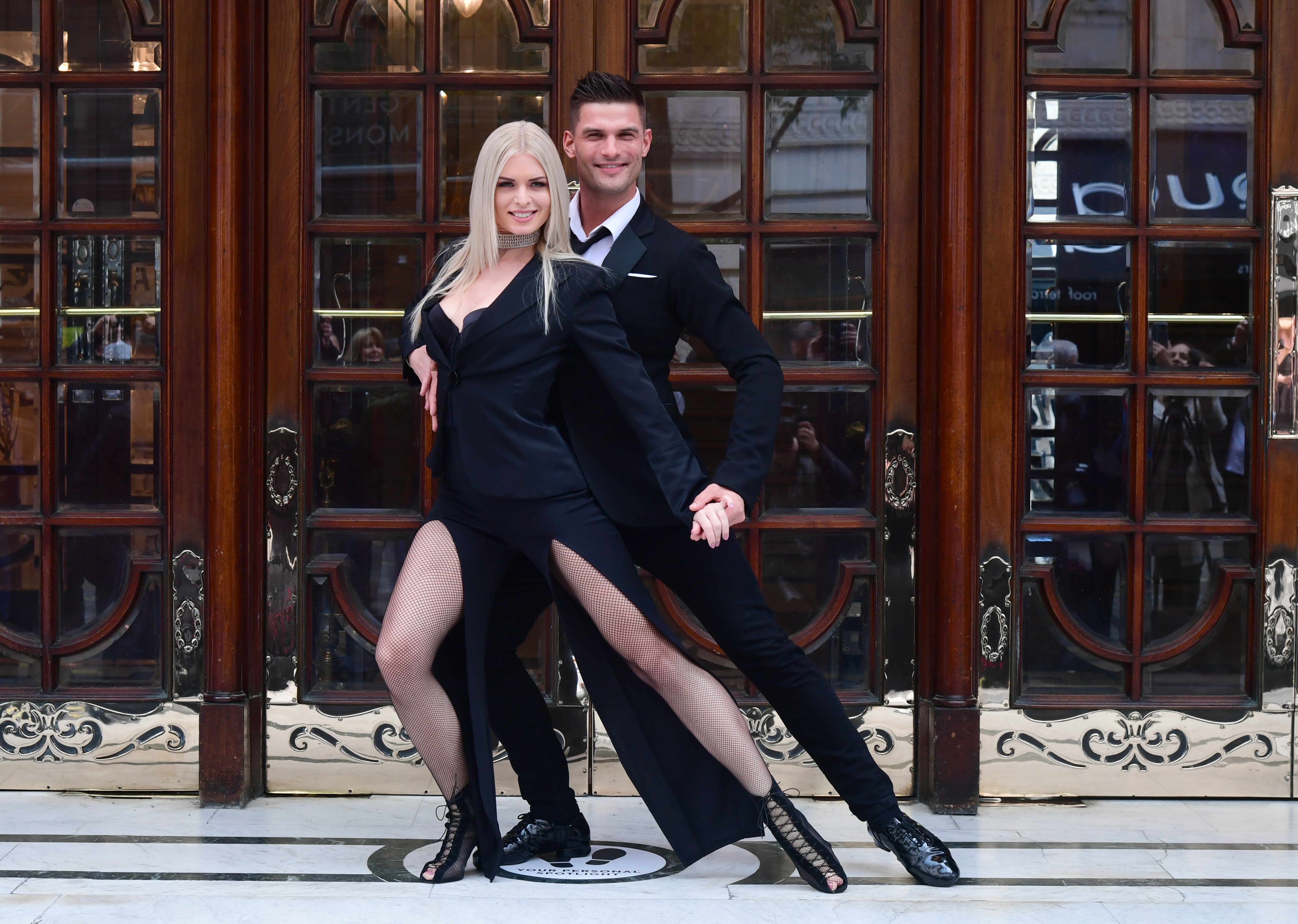 <p>Stricly Come Dancing stars Aljaz Skorjanec and Nadiya Bychkova launching their new show, Here Come the Boys, at the London Palladium. Picture date: Tuesday May 25, 2021.</p>