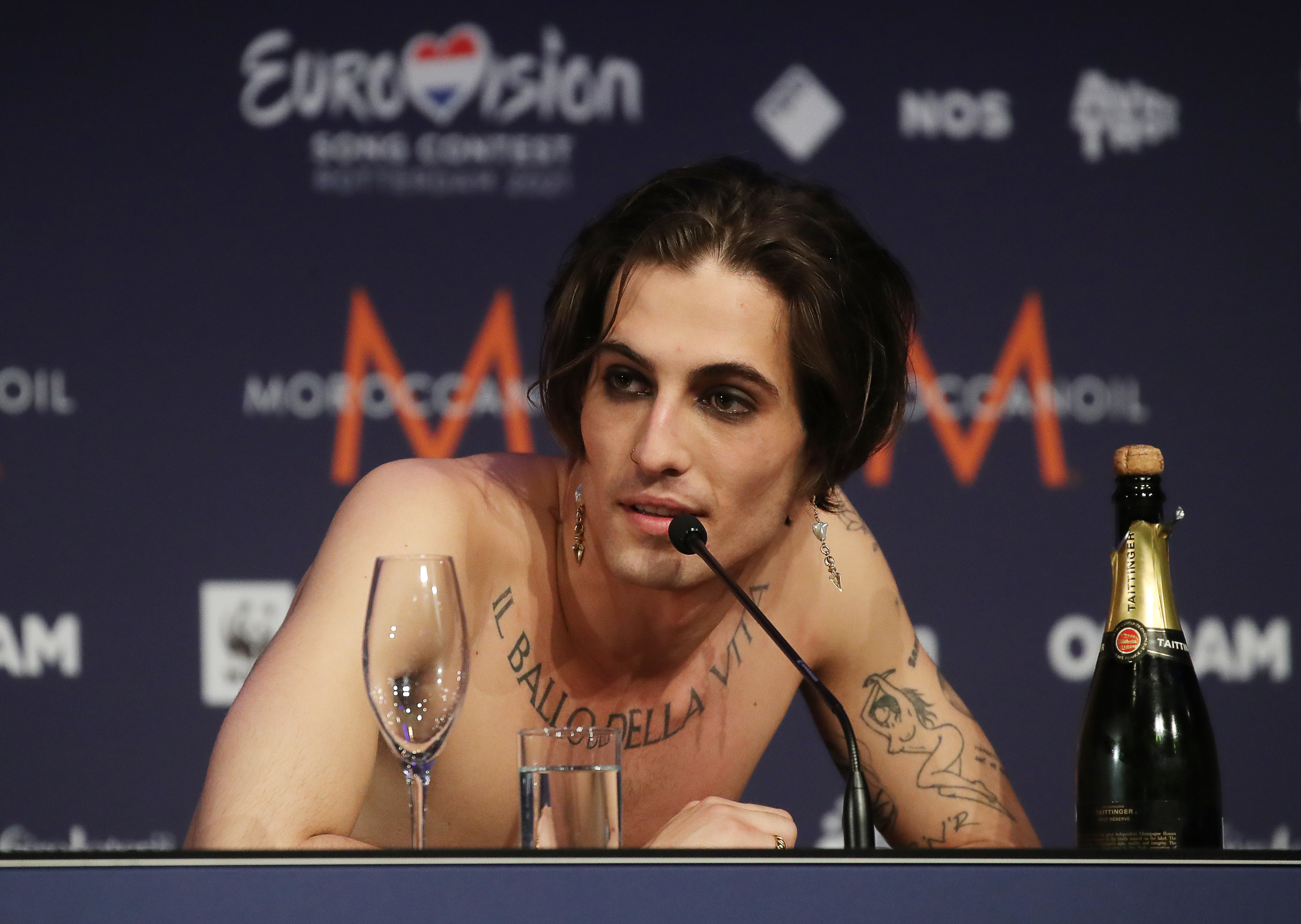 Eurovision 2021 highlights: Italy reps for rock, Flo Rida reps for San Marino, 'Fire Saga' actor reps for 'Jaja Ding Dong' fans