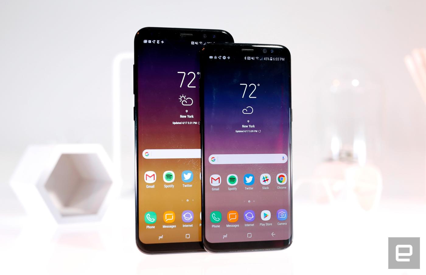 Samsung's Galaxy S8 and S8 devices won't be getting any more updates going forward..