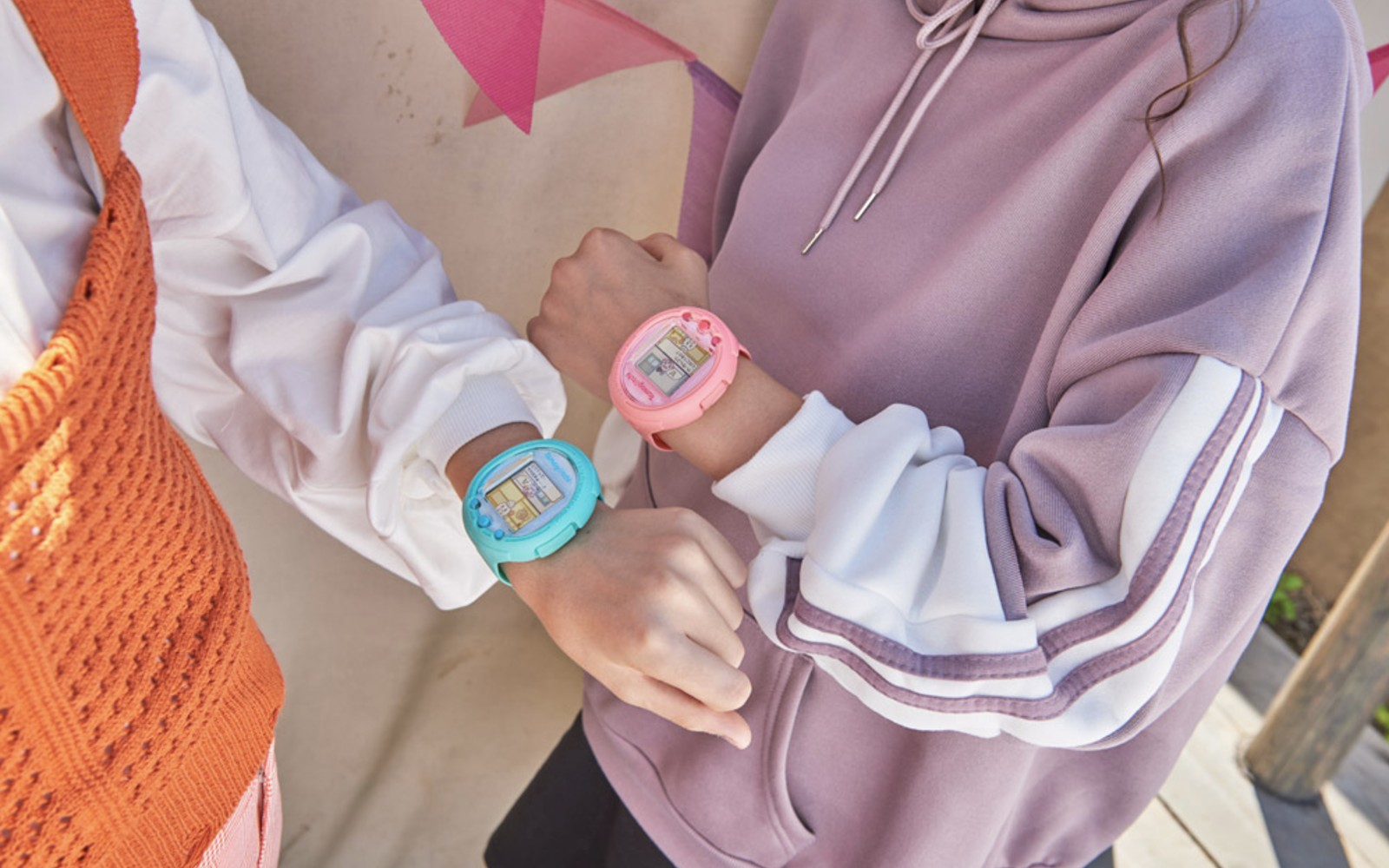 Tamagotchi is back again, this time in smartwatch form