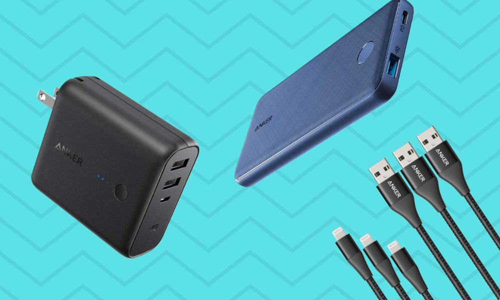 Amazon is having a huge one-day sale on Anker charging accessories—prices start at just $18