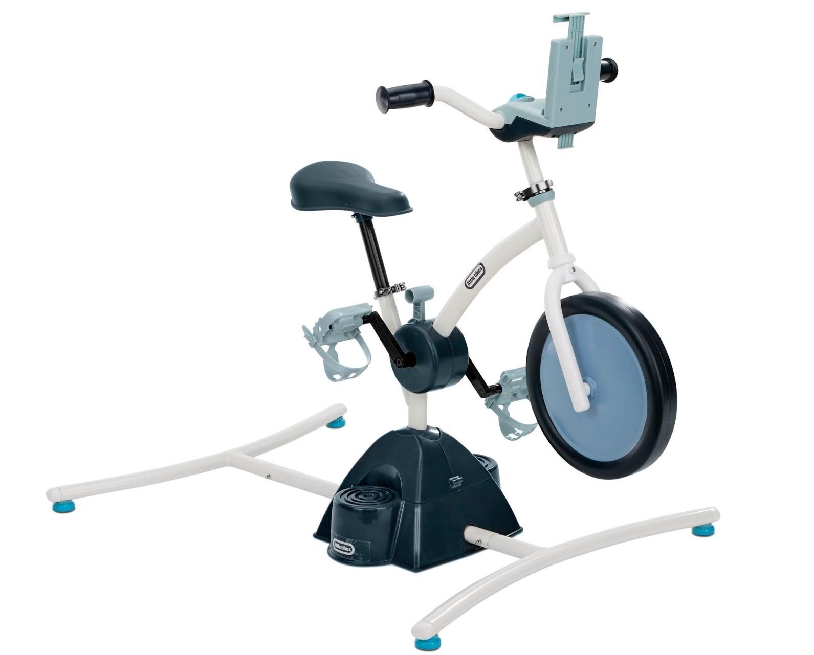 Little Tikes, çocuklar için Peloton tarzı bir sabit bisiklet yaptı | Engadget