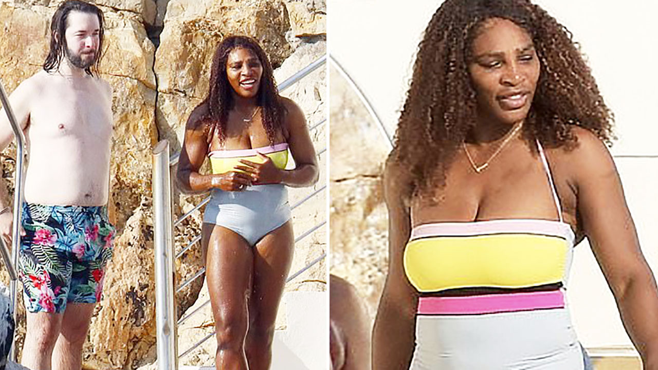 Tennis world in frenzy over photos of Serena Williams and husband