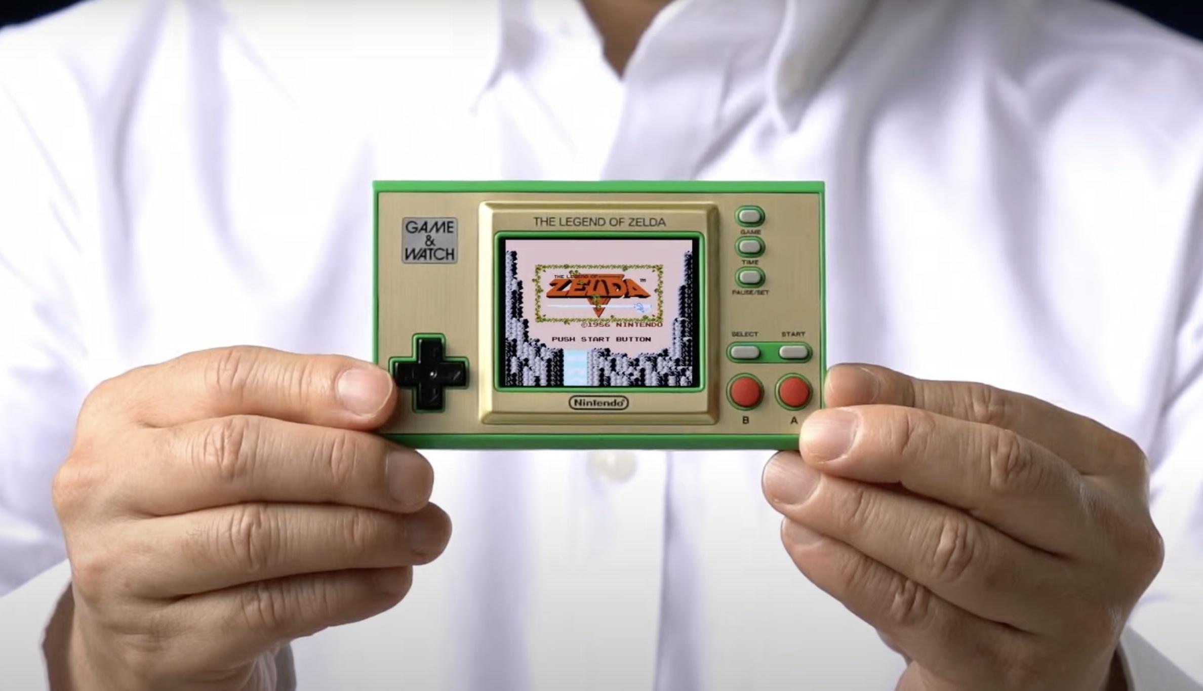 薩爾達傳說 Legend of Zelda Game & Watch