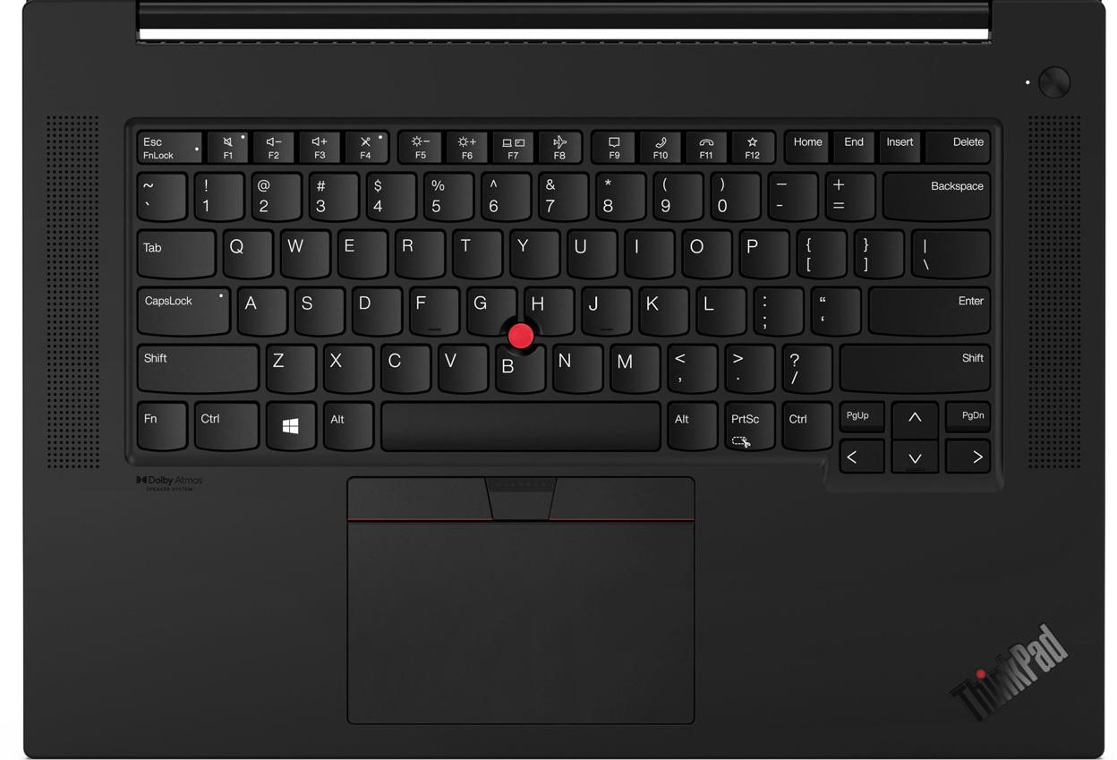 ▲ El teclado de EE. UU. Es del mismo tipo que el X1 Carbon. Gran atención del usuario[End]Cuándo[Insert]Es una especificación independiente (no un propósito dual como el X1 Nano y Titanium)