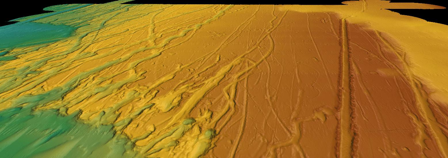 Huge icebergs 'drifted as far as Florida' ocean floor scans show