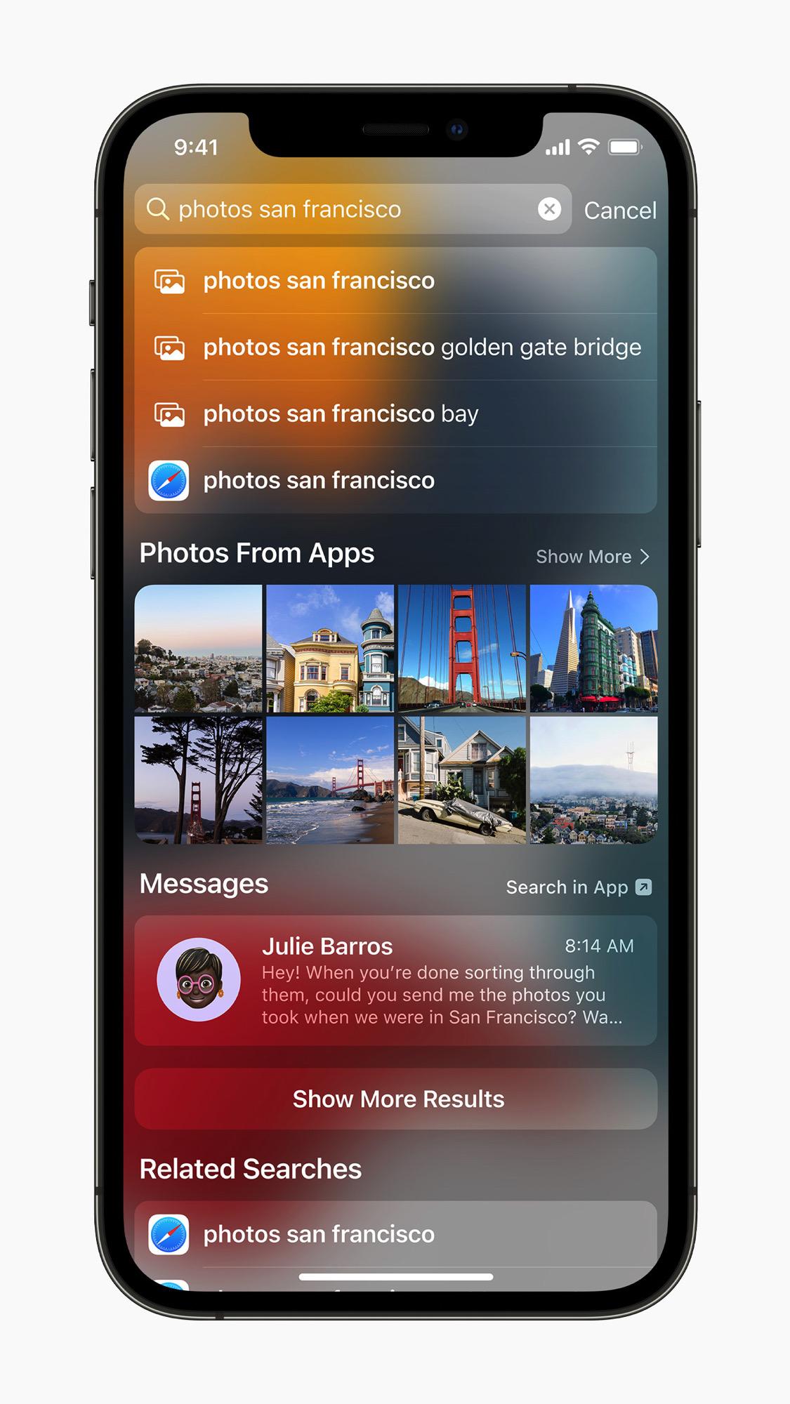 <p>Apple iOS 15</p>