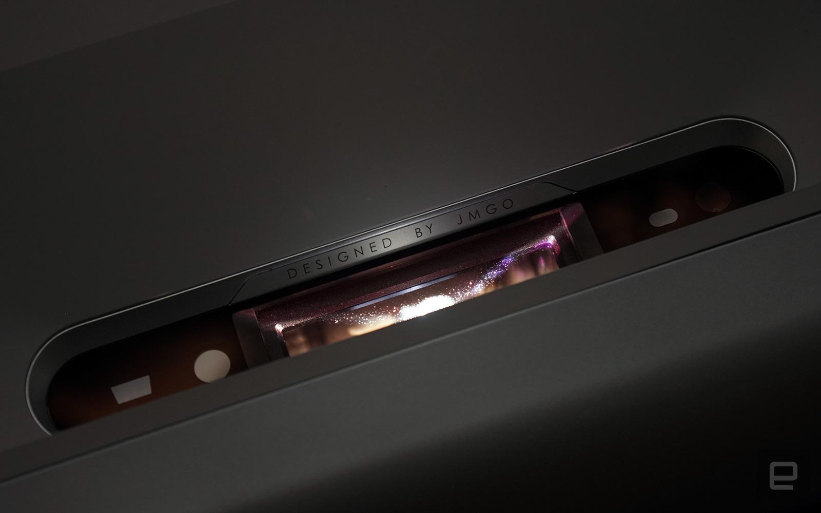 <p>JMGO O1 ultra-short throw LED projector</p>