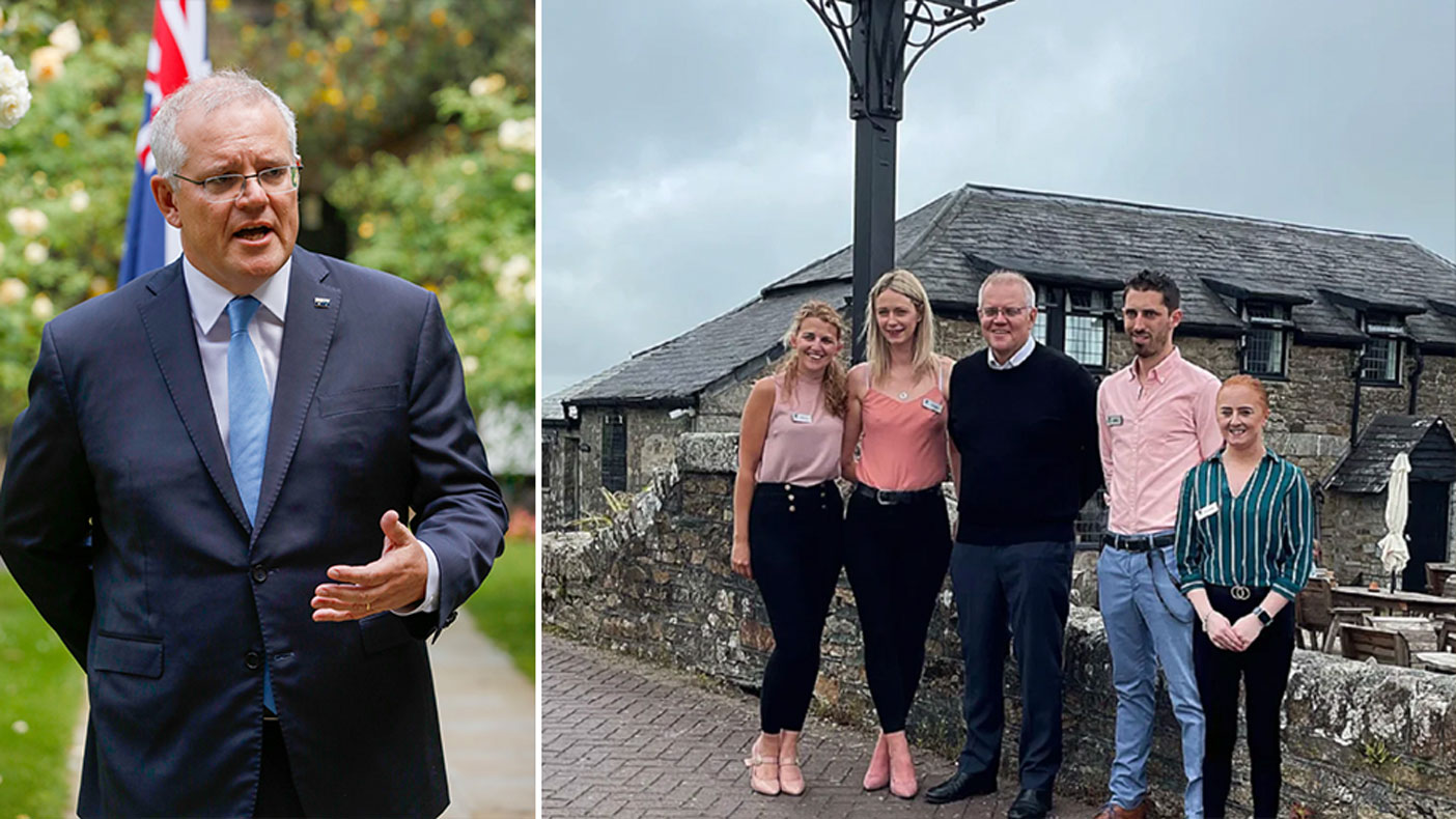 PM's 'tone deaf' pub photo was just one stop on G7 side trip