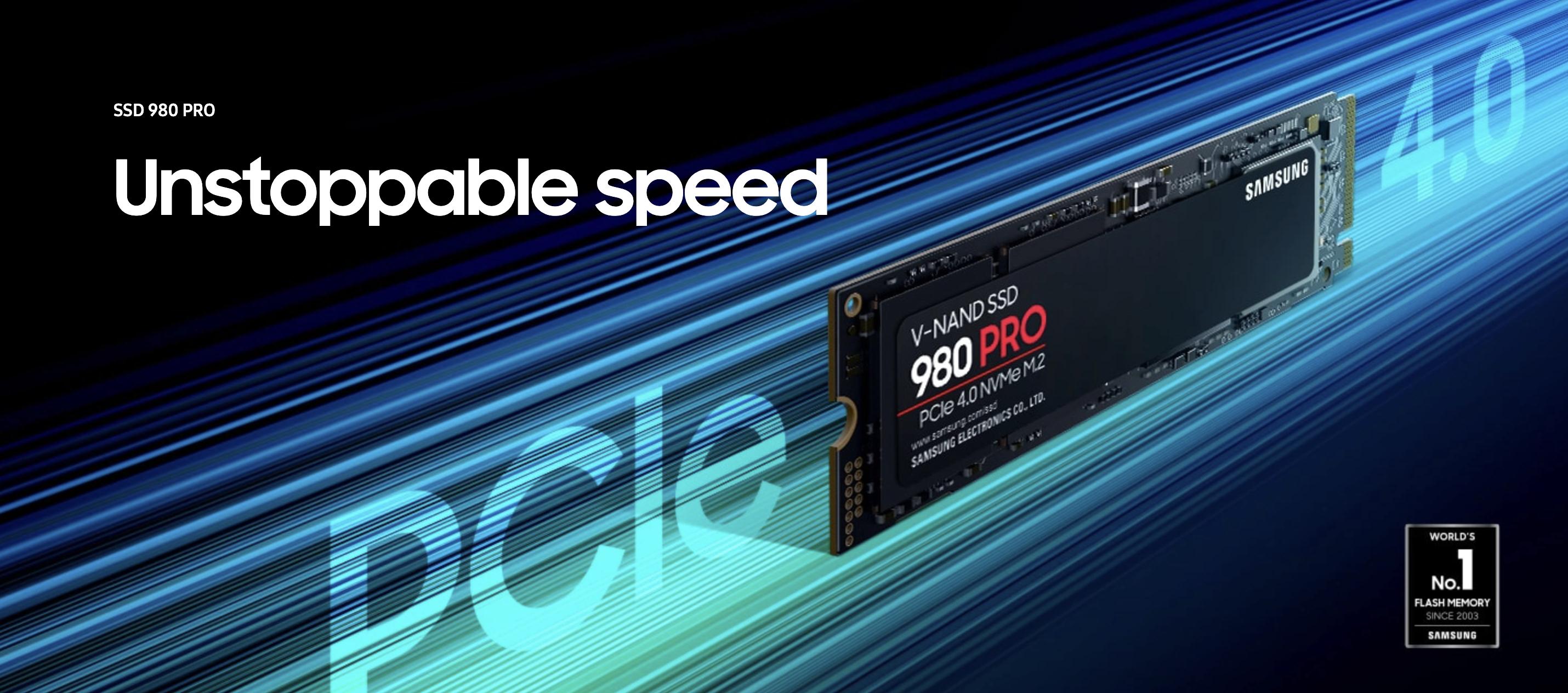 三星 980 Pro 固態硬盤