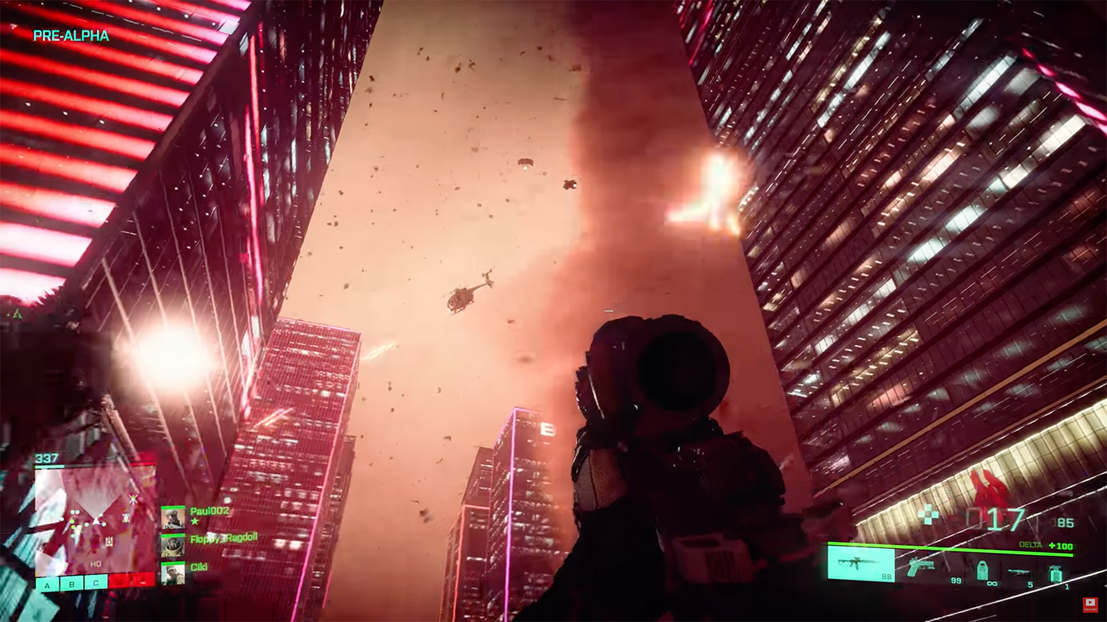 First 'Battlefield 2042' gameplay trailer shows tornadoes, rockets and wingsuits   Engadget
