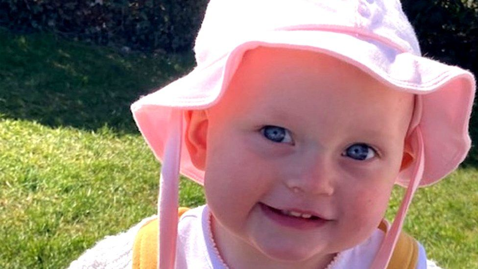 Toddler who died after falling into garden pond in Scotland is pictured