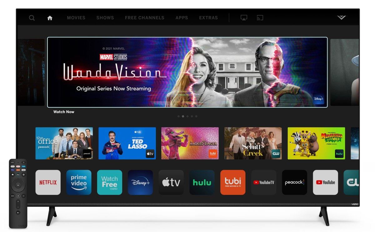 Vizio's 2022 TV lineup includes a 40-inch TV with VRR for less than $250 – Engadget