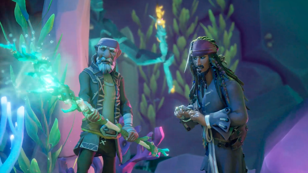 Pirates of the Caribbean are coming to 'Sea of Thieves'   Engadget