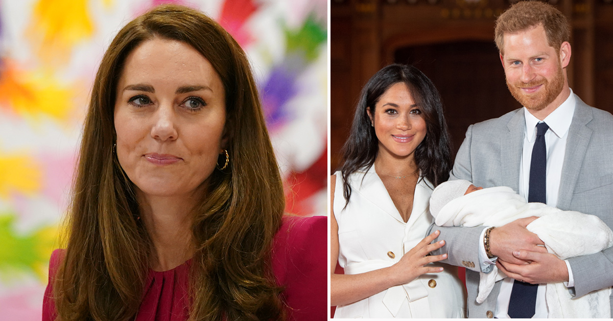 Kate Middleton caught off-guard by Sussex question: 'Haven't met yet'