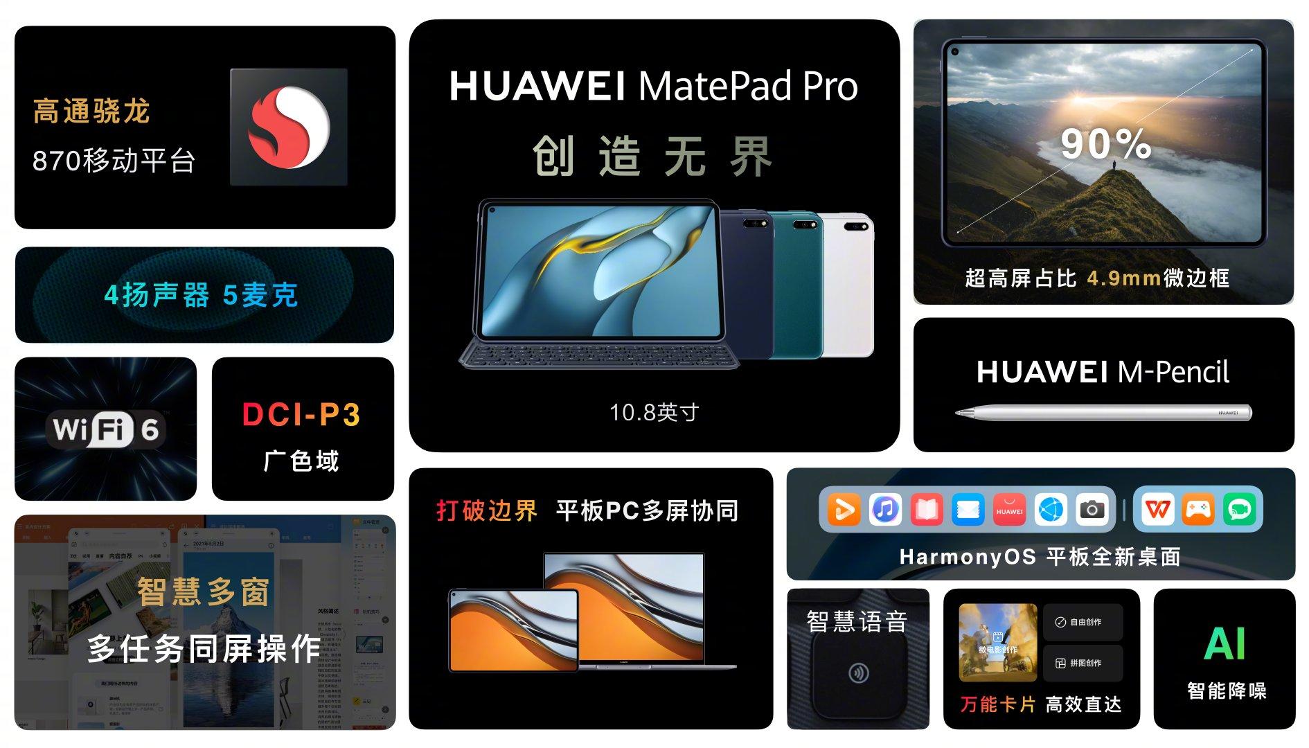 華為 MatePad Pro 10.8