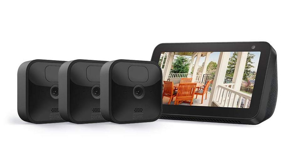 Amazon Echo Show 5 + Blink Outdoor
