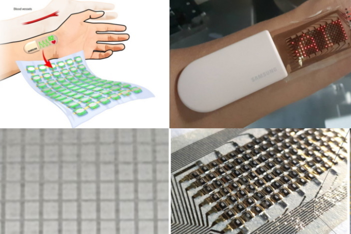 Samsung's stretchable electronic 'skin' can detect and display your heartbeat | Engadget