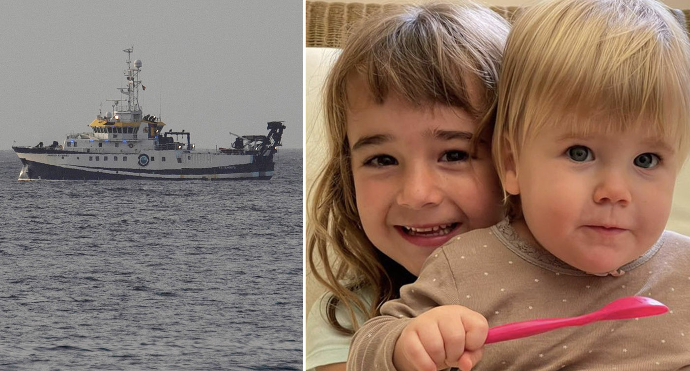 Grim new details about missing girls after body found tied to anchor