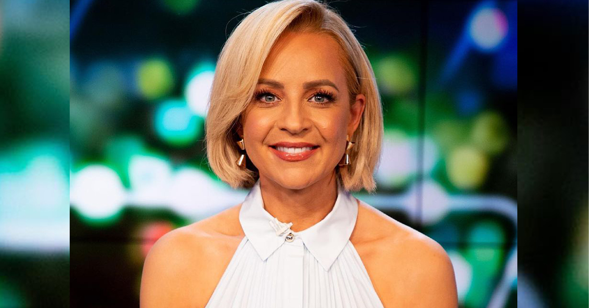 Carrie Bickmore sparks fan frenzy with shoulder-baring top